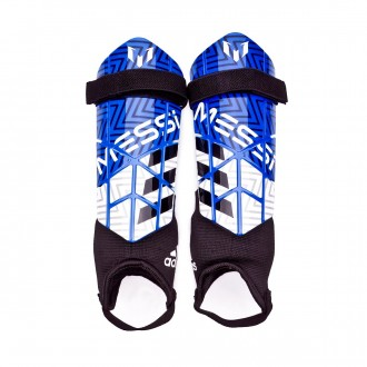 Shinpads  adidas Kids Messi 10  Football blue-White-Black