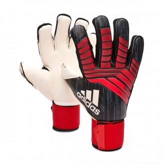 Guante  adidas Predator Half Negative Black-Red-White