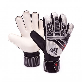 Guante  adidas Predator Fingersave Manuel Neuer Niño White-Silver metallic-Black-Solar red