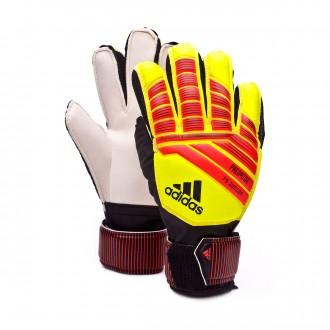 Guante  adidas Predator Fingersave Niño Solar yellow-Solar red-Black