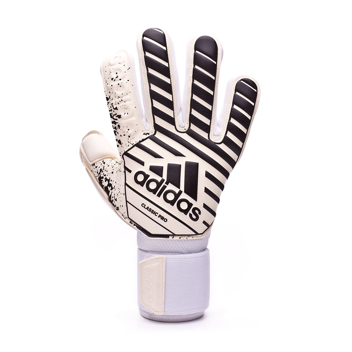 Plano Para buscar refugio Síntomas  Glove adidas Classic Pro White-Black - Football store Fútbol Emotion