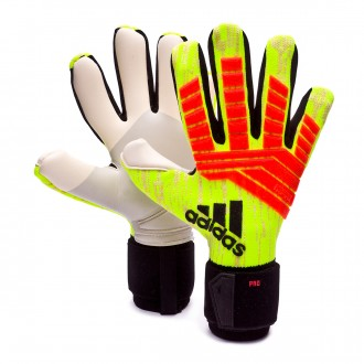 Glove  adidas Predator Pro Solar yellow-Solar red-Black