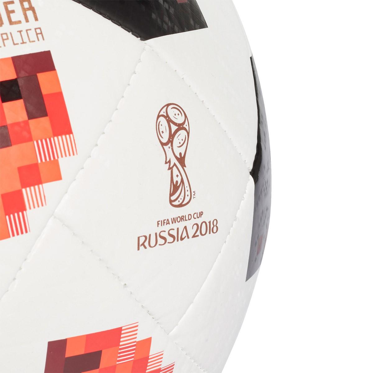 7bd466be23338 Bola de Futebol adidas World Cup KO Top Glider White-Solar red-Black - Loja  de futebol Fútbol Emotion
