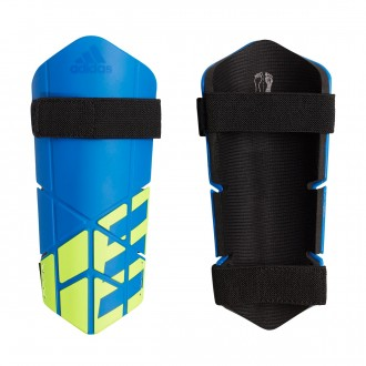 Shinpads  adidas X Lite Football blue-Black-Solar yellow