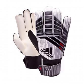 Glove  adidas Predator Manuel Neuer Training White-Silver metallic-Solar red