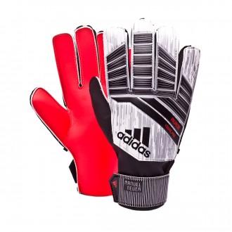 Glove  adidas Predator YP Manuel Neuer Solar red-Black-Silver metallic-White