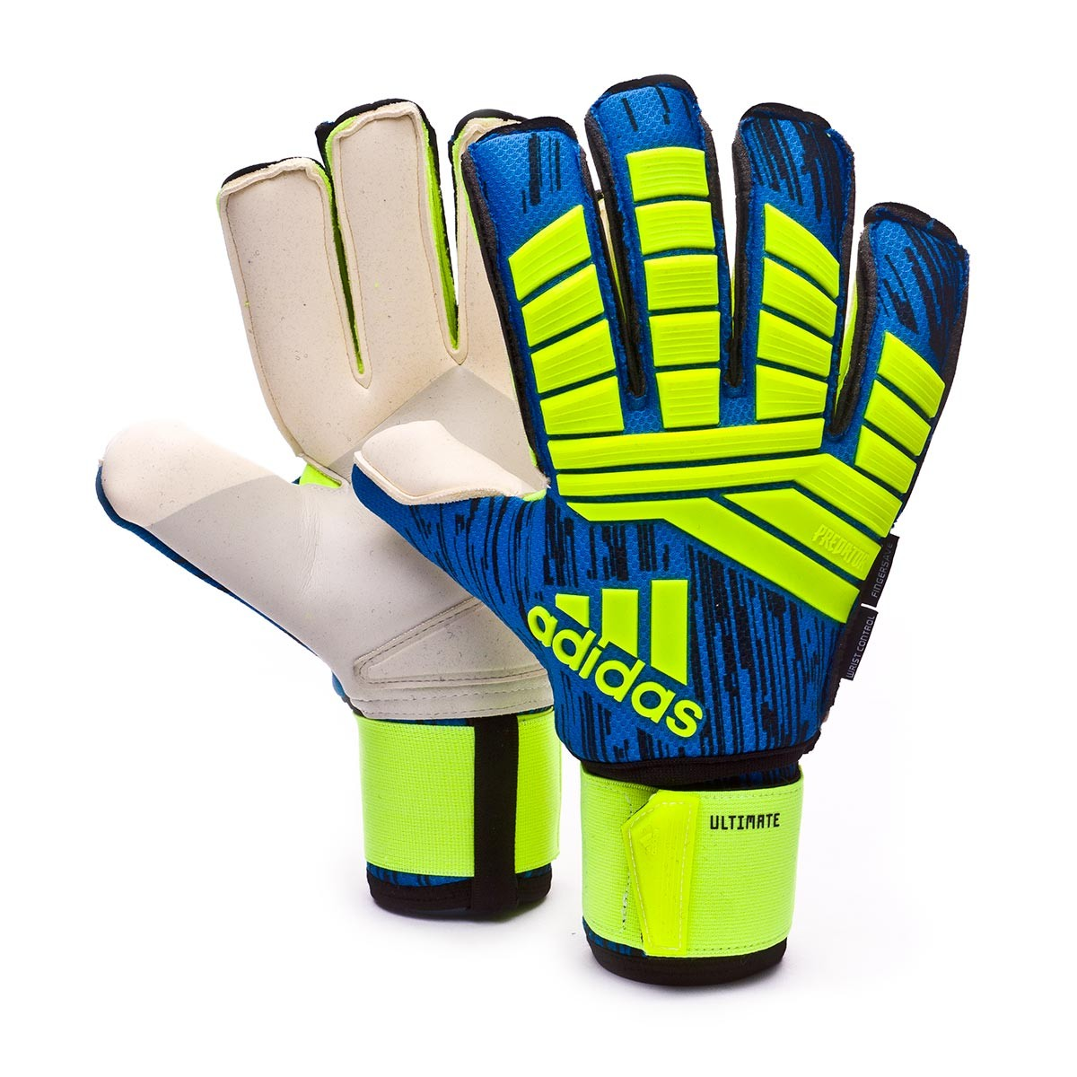 new styles 51482 22ab8 Glove adidas Predator Ultimate Solar yellow-Black-Football blue - Football  store Fútbol Emotion