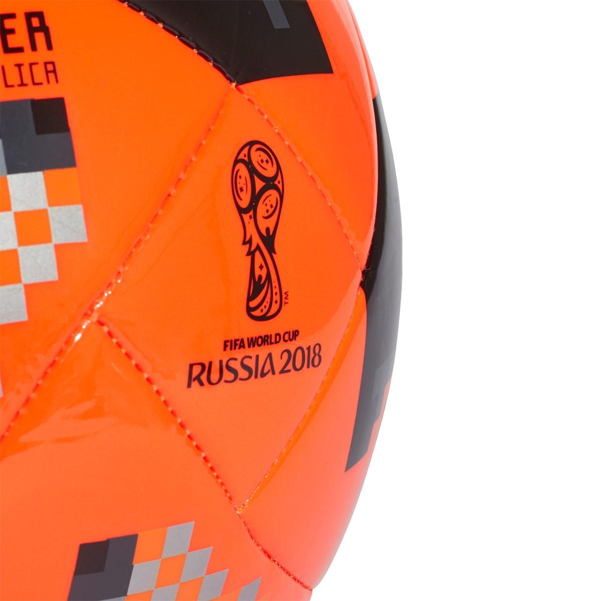 cdc00fe62ef Ball adidas World Cup KO Glider Solar red-Black - Football store Fútbol  Emotion