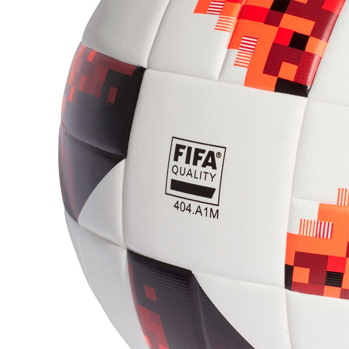 Balón adidas World Cup KO Top Replique White-Solar red-Black ... 475425045da52