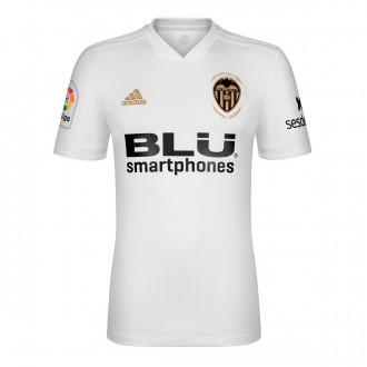 Camisola  adidas Valencia CF Primera Equipación 2018-2019 White-Crystal white
