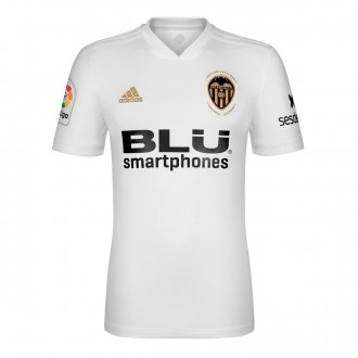 Jersey  adidas Kids Valencia CF 2018-2019 Home White-Crystal white