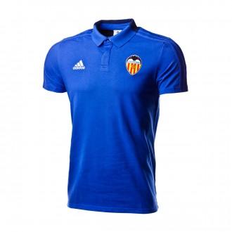 Polo  adidas Valencia CF 2018-2019 Bold blue-Dark blue-White