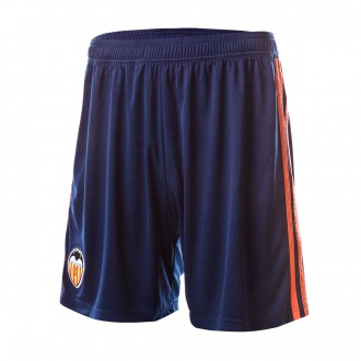 Shorts  adidas Valencia CF 2018-2019 Away Collegiate navy-Semi solar orange