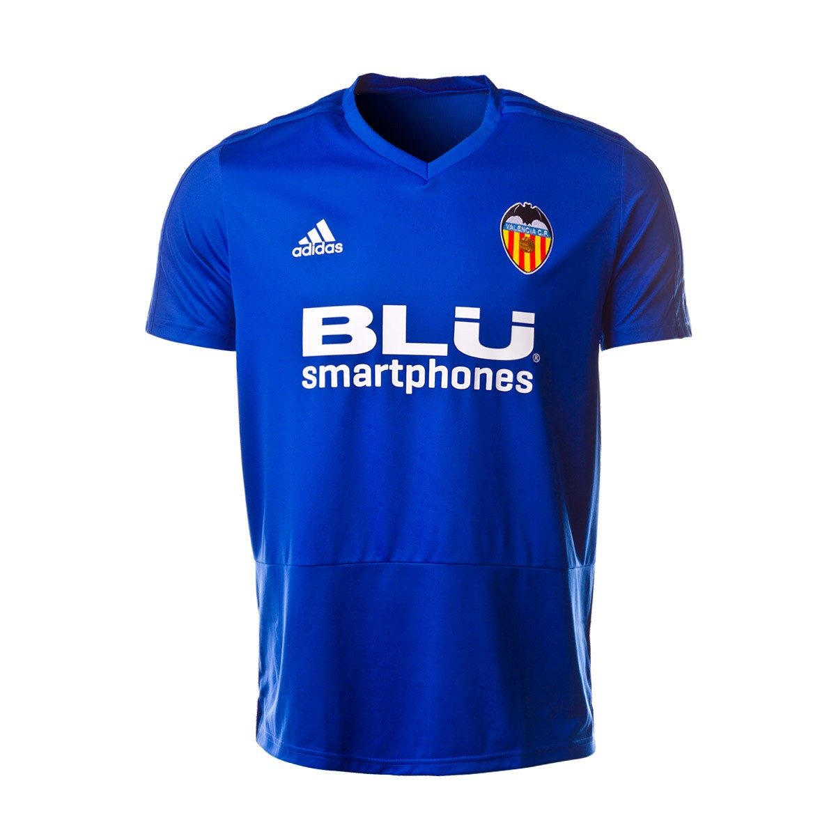 new styles 4d9d0 8262e Camiseta Valencia CF Training 2018-2019 Bold blue-White