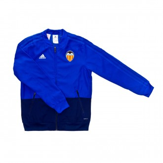 Jacket  adidas Kids Valencia CF Prematch 2018-2019  Bold blue-Dark blue-White