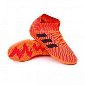 Sapatilha de Futsal  adidas Nemeziz Tango 18.3 IN Crianças Zest-Black-Solar red