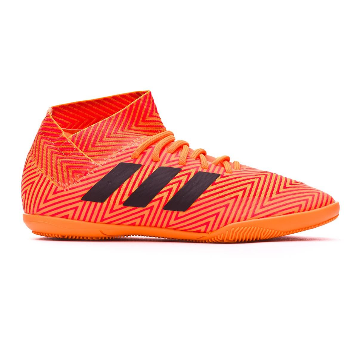 013813fdc Futsal Boot adidas Kids Nemeziz Tango 18.3 IN Zest-Black-Solar red - Tienda  de fútbol Fútbol Emotion