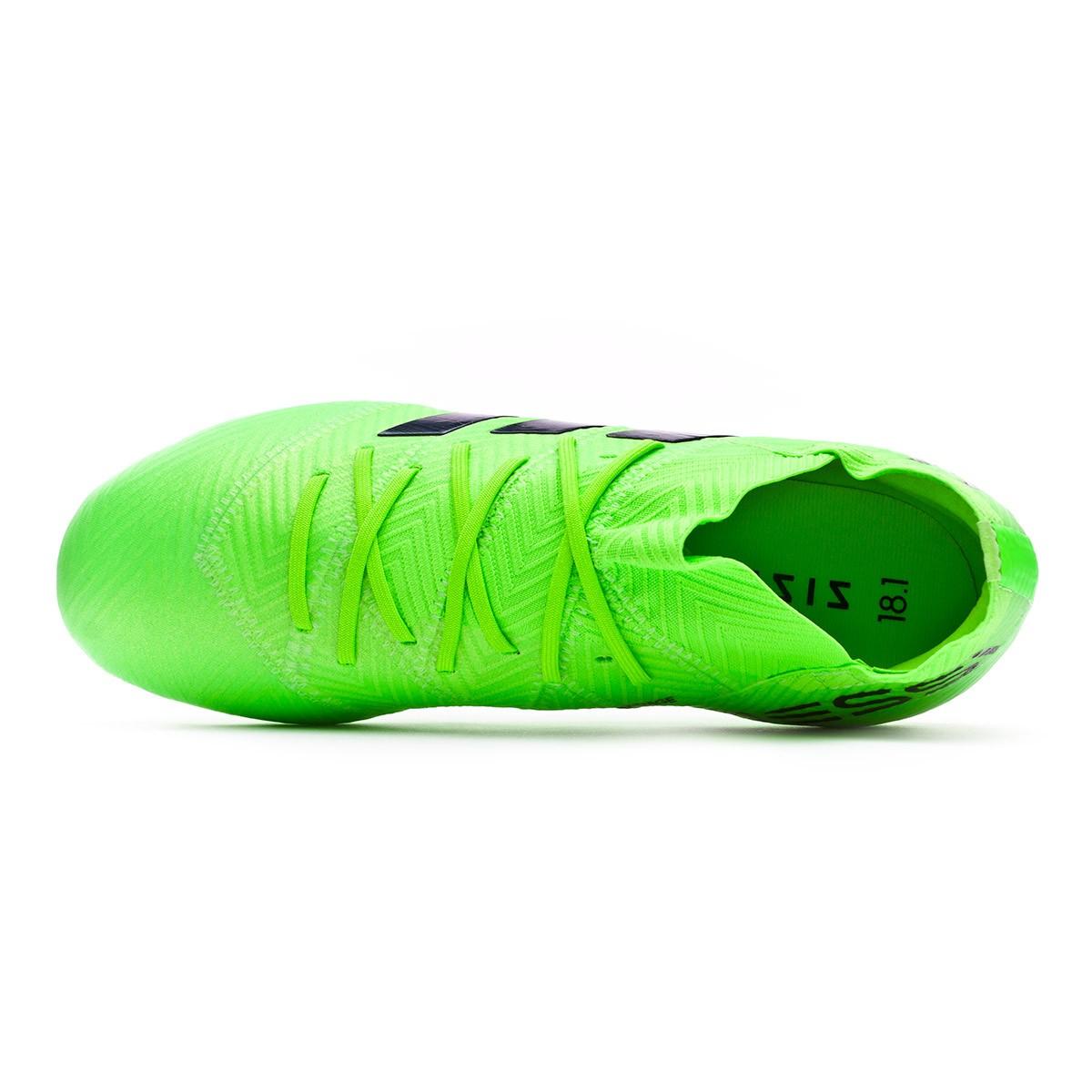 1ba376d025b Football Boots adidas Kids Nemeziz Messi 18.1 FG Solar green-Black -  Football store Fútbol Emotion