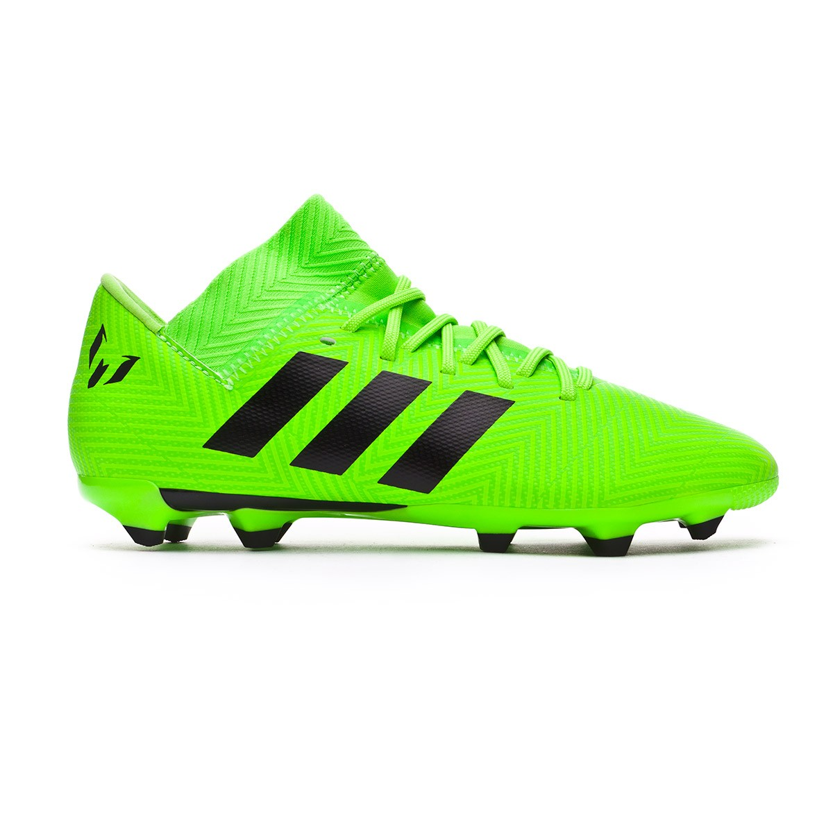 2cca4bdd62bd Football Boots adidas Kids Nemeziz Messi 18.3 Solar green-Black - Football  store Fútbol Emotion