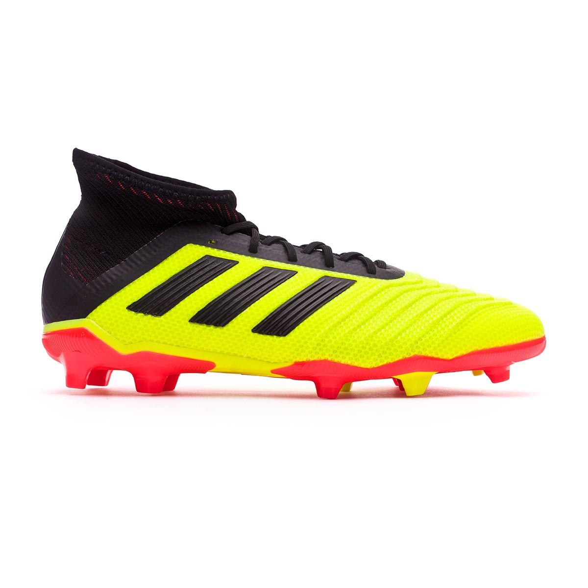 the latest 3f8ca 28bb3 Boot adidas Kids Predator 18.1 FG Solar yellow-Black-Solar red - Football  store Fútbol Emotion
