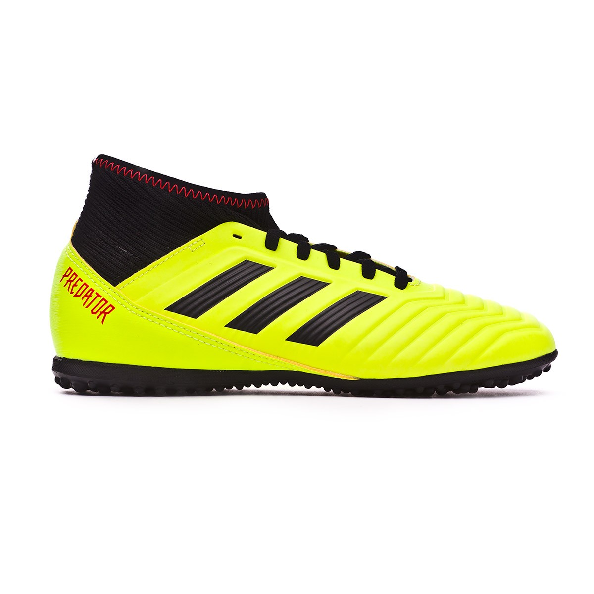 43de5eac0 Football Boot adidas Kids Predator Tango 18.3 Turf Solar yellow-Black-Solar  red - Football store Fútbol Emotion