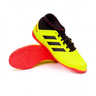 Chaussure de futsal  adidas Predator Tango 18.3 IN enfant Solar yellow-Black-Solar red