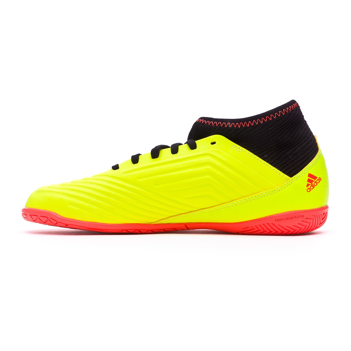 77bec646e00 Futsal Boot adidas Kids Predator Tango 18.3 IN Solar yellow-Black-Solar red  - Tienda de fútbol Fútbol Emotion