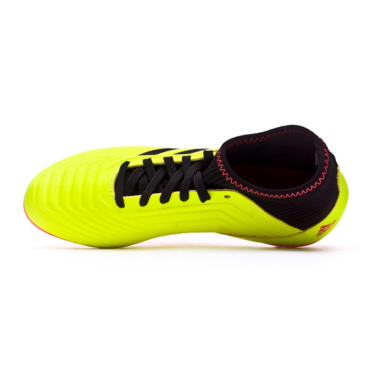 376d250030e Football Boots adidas Kids Predator 18.3 AG Solar yellow-Black-Solar red -  Football store Fútbol Emotion