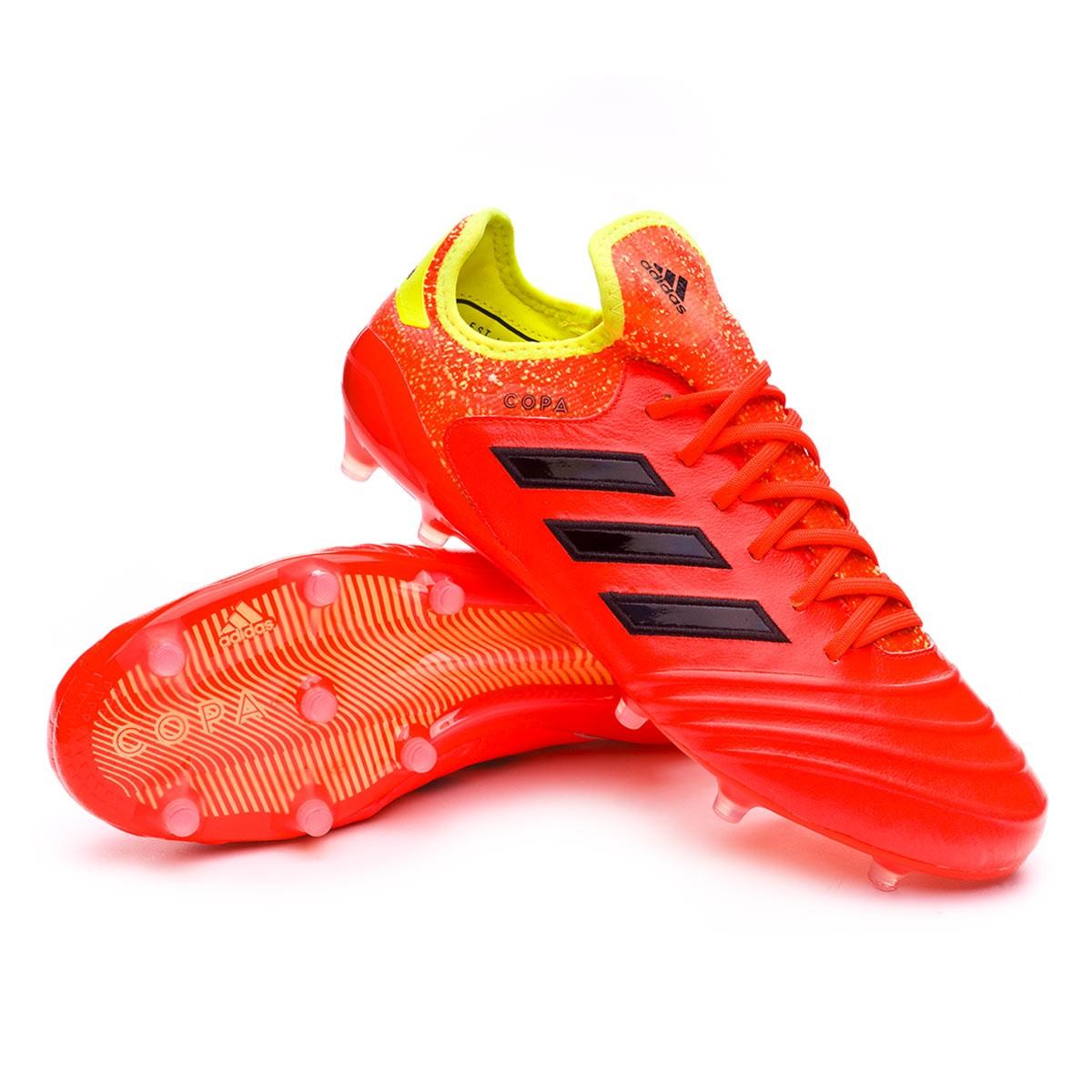 931c416e6 Football Boots adidas Copa 18.1 FG Solar red-Black-Solar yellow ...