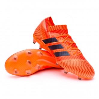 Bota  adidas Nemeziz 18.1 FG Zest-Black-Solar red