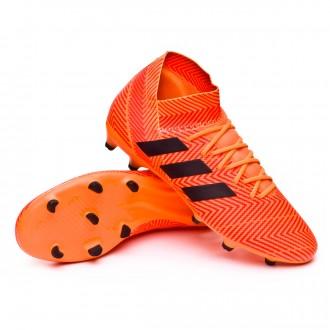 Bota  adidas Nemeziz 18.3 FG Zest-Black-Solar red
