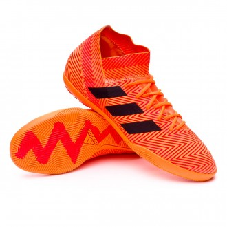 Futsal Boot  adidas Nemeziz Tango 18.3 IN Zest-Black-Solar red