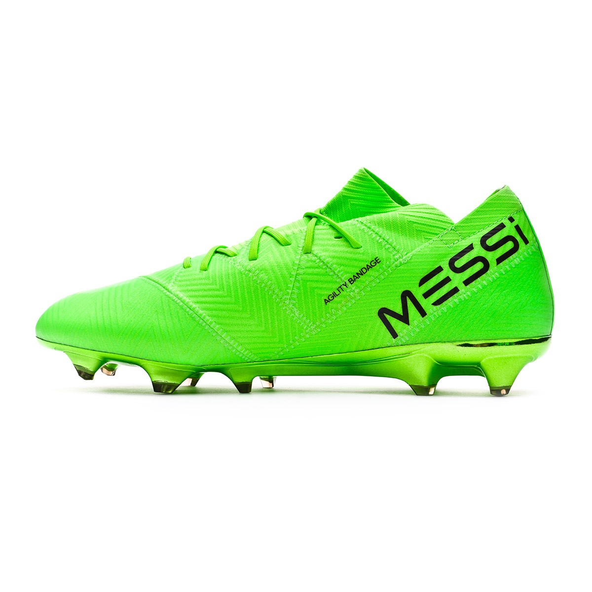 6c232debb Football Boots adidas Nemeziz Messi 18.1 FG Solar green-Black - Football  store Fútbol Emotion