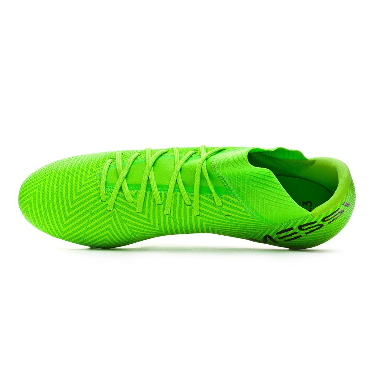 half off 1ce6c 5a891 Football Boots adidas Nemeziz Messi 18.3 FG Solar green-Black - Tienda de  fútbol Fútbol Emotion