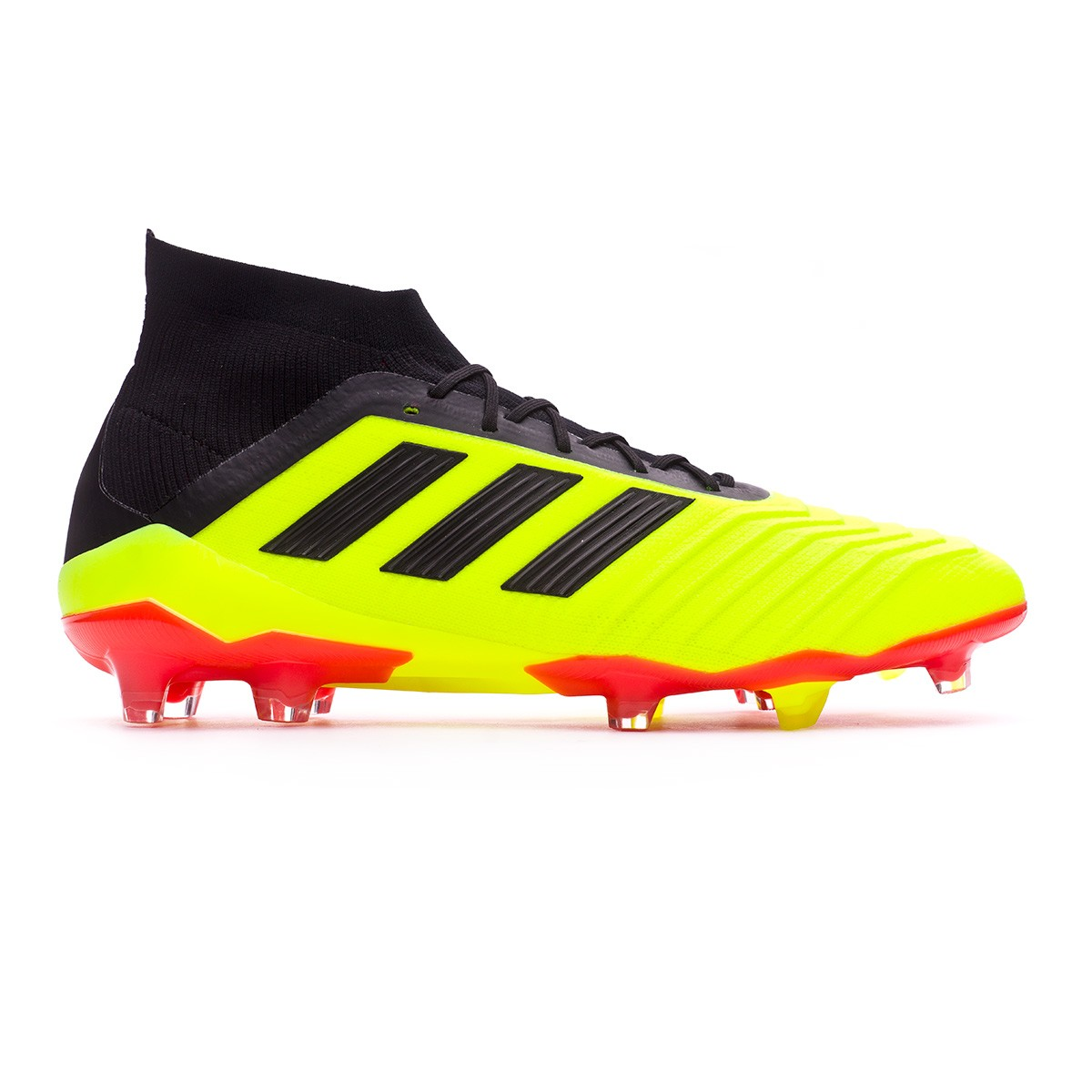 best loved c7b0c ed302 Bota de fútbol adidas Predator 18.1 FG Solar yellow-Black-Solar red -  Tienda de fútbol Fútbol Emotion