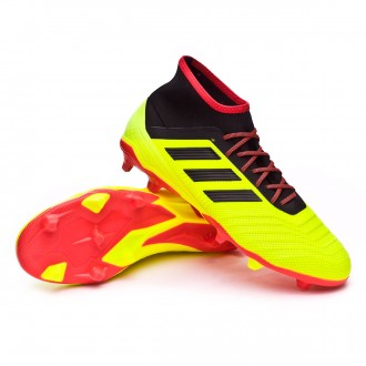 Bota  adidas Predator 18.2 FG Solar yellow-Black-Solar red