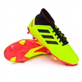 Bota  adidas Predator 18.3 FG Solar yellow-Black-Solar red