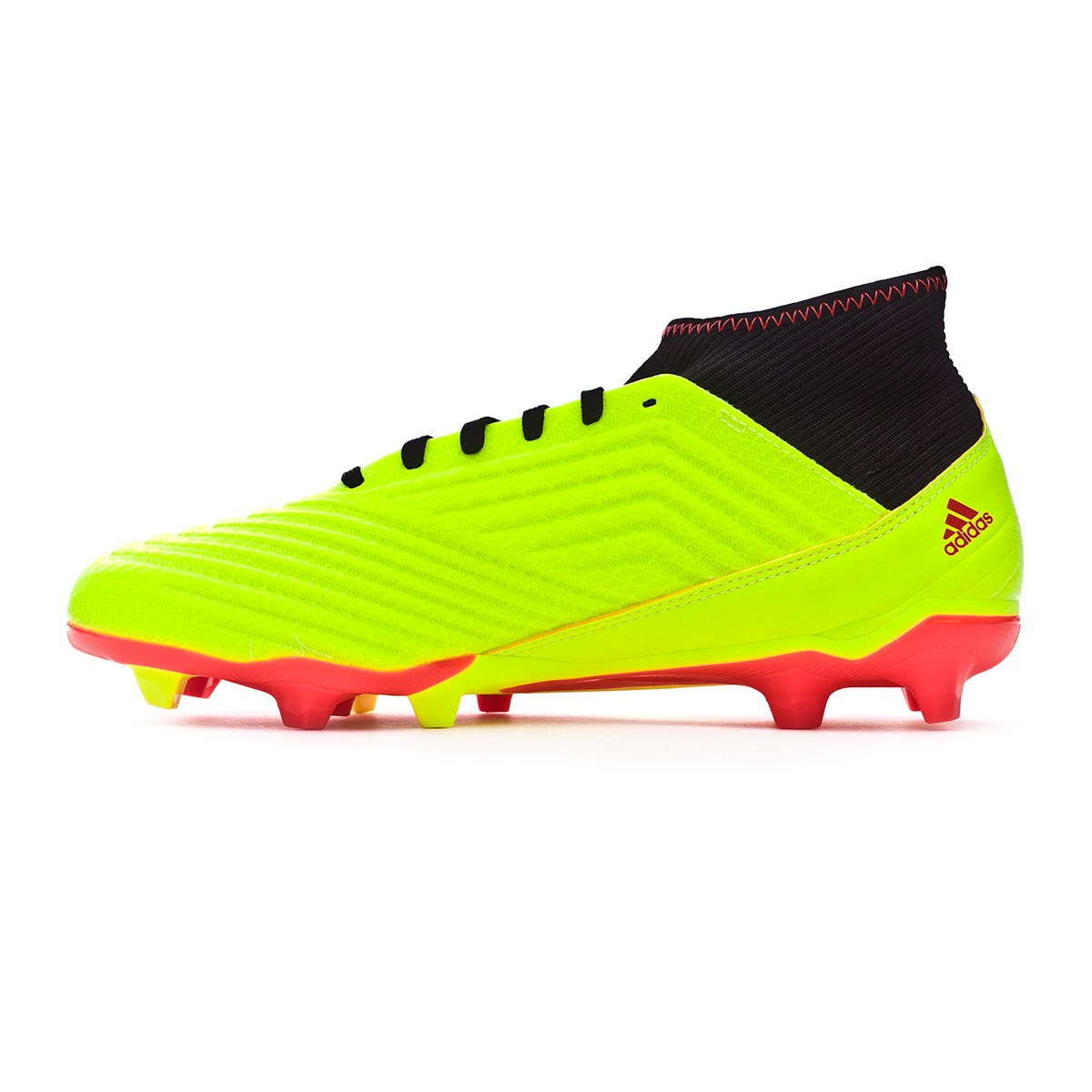 1ac04abfd3c Football Boots adidas Predator 18.3 FG Solar yellow-Black-Solar red -  Football store Fútbol Emotion