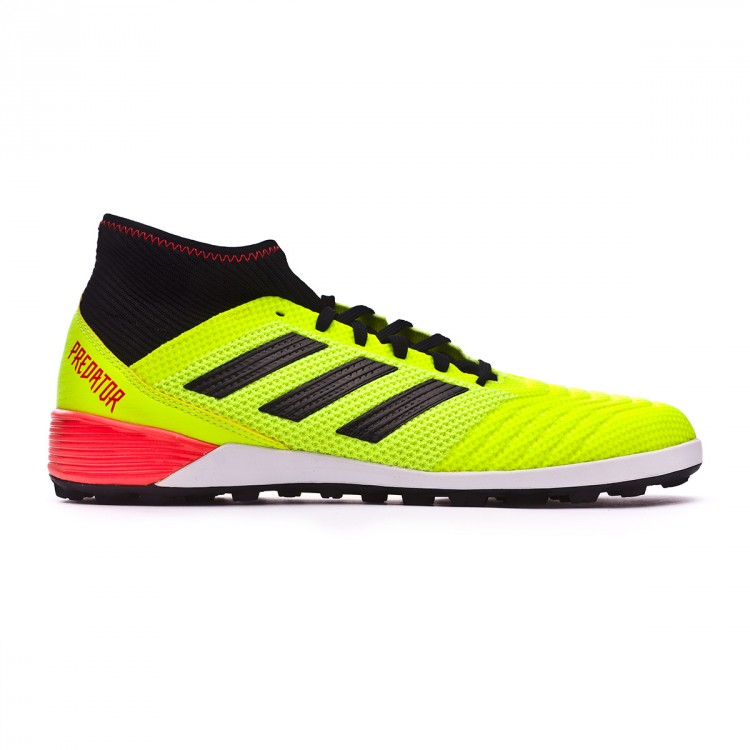 Zapatilla Predator Tango 18.3 Turf Solar yellow-Black-Solar red