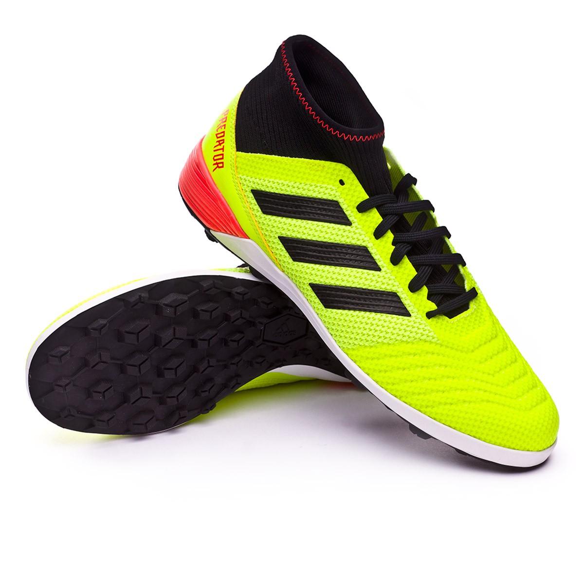 01915959542e Football Boot adidas Predator Tango 18.3 Turf Solar yellow-Black ...