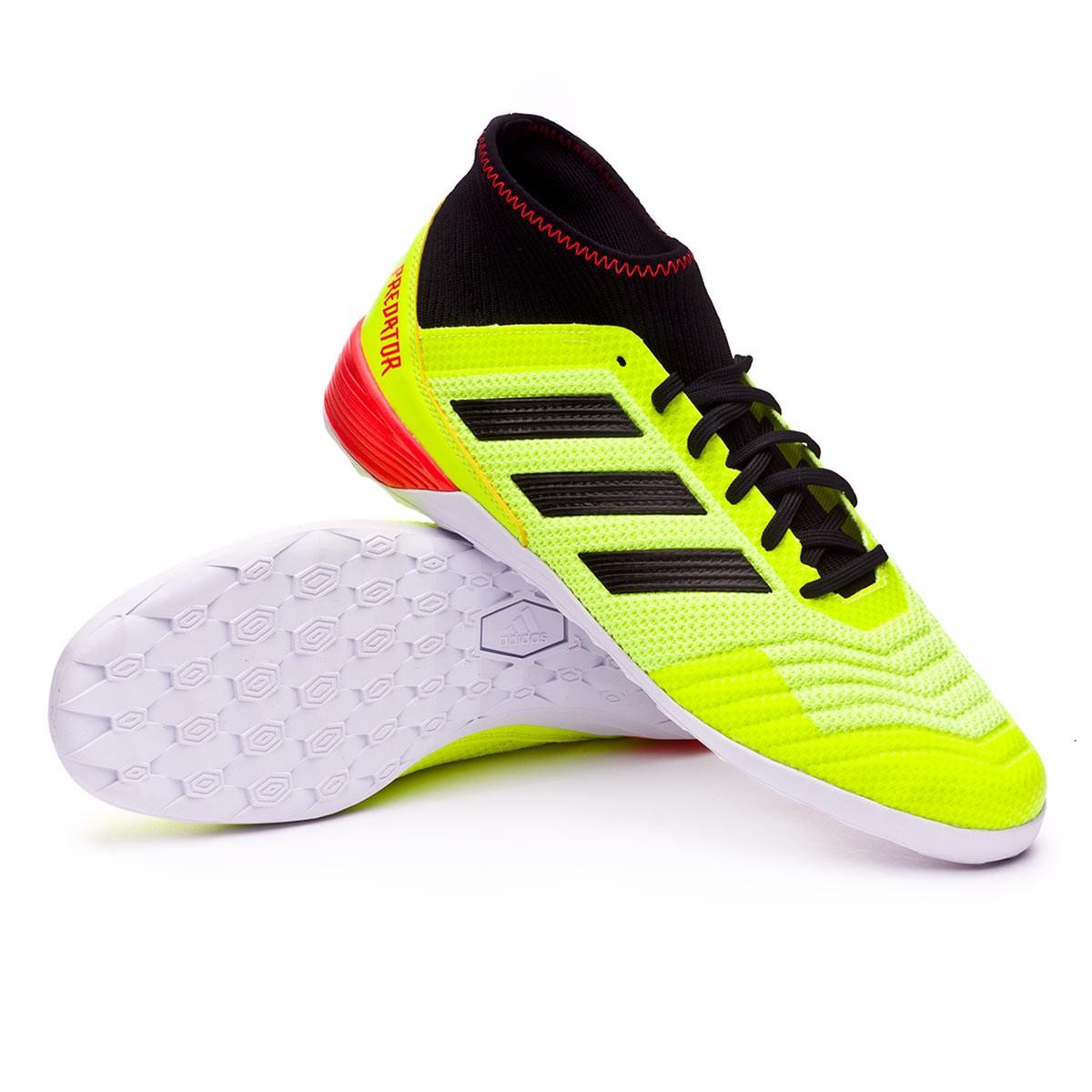91b1fedd56e4 Futsal Boot adidas Predator Tango 18.3 IN Solar yellow-Black-Solar ...