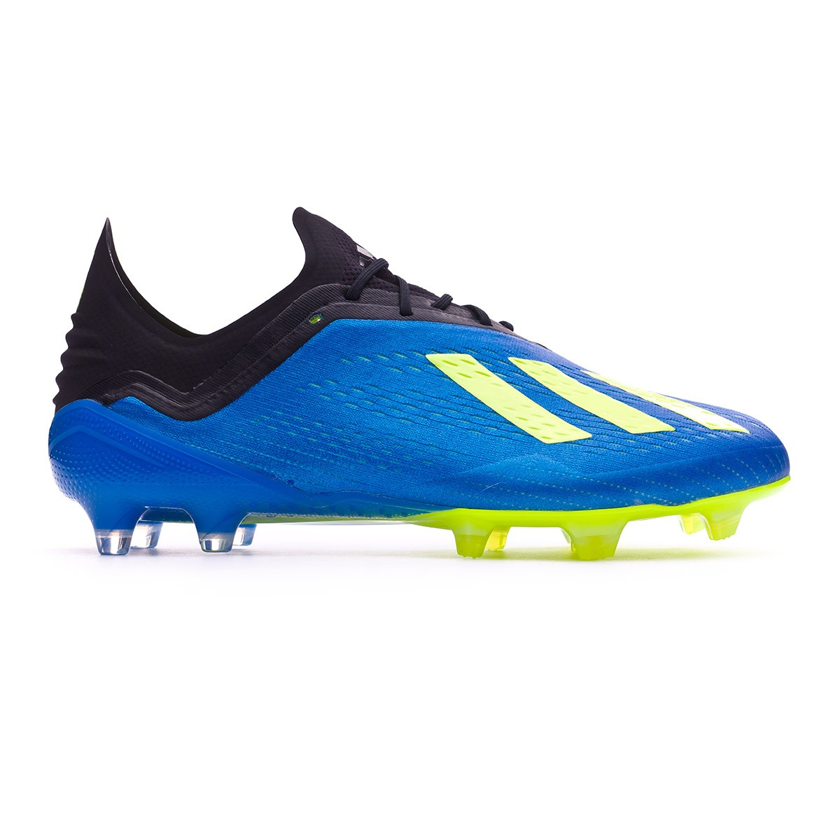 Bolsa abuela confirmar  Football Boots adidas X 18.1 FG Foot blue-Solar yellow-Black - Football  store Fútbol Emotion