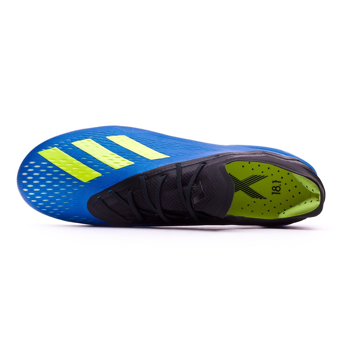 low priced c13de 23308 Football Boots adidas X 18.1 FG Foot blue-Solar yellow-Black - Football  store Fútbol Emotion
