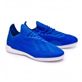 Sapatilha  adidas X Tango 18.1 TR Foot blue-Solar yellow