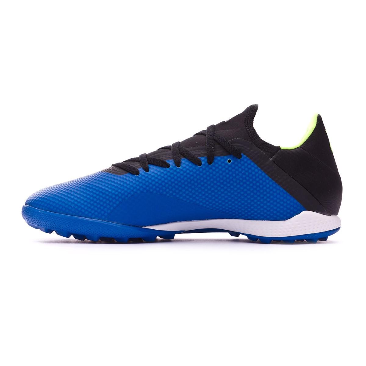 383842e99574a Football Boot adidas X Tango 18.3 Turf Foot blue-Solar yellow-Black -  Football store Fútbol Emotion