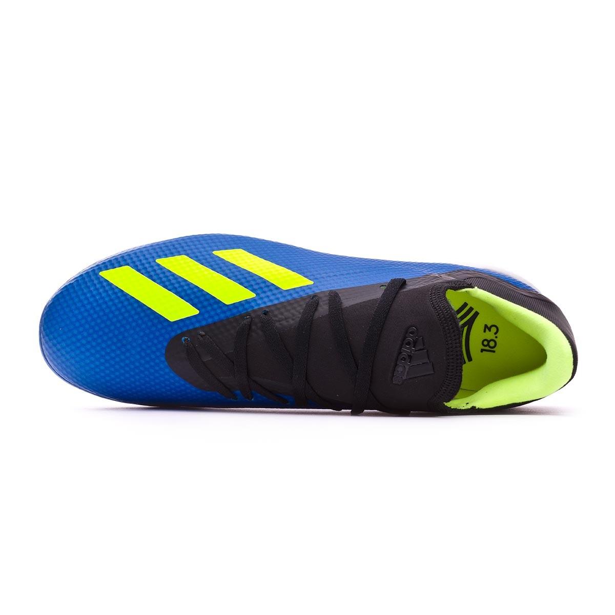 quality design d12e4 5a76e Football Boot adidas X Tango 18.3 Turf Foot blue-Solar yellow-Black -  Tienda de fútbol Fútbol Emotion