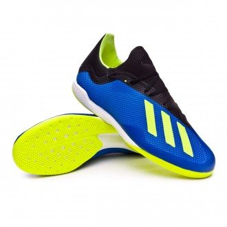 Futsal Boot  adidas X Tango 18.3 IN Foot blue-Solar yellow-Black