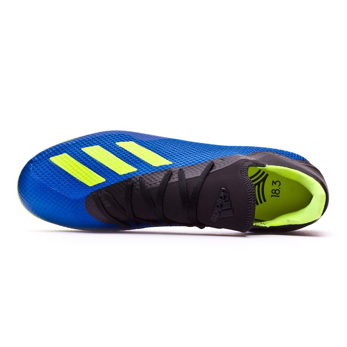 Futsal Boot adidas X Tango IN Foot Bleu Solar Jaune Noir
