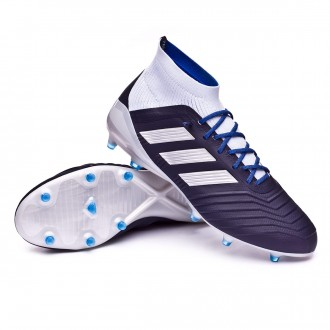 Boot  adidas Woman Predator 18.1 FG Legend ink-Silver metallic-Aero blue