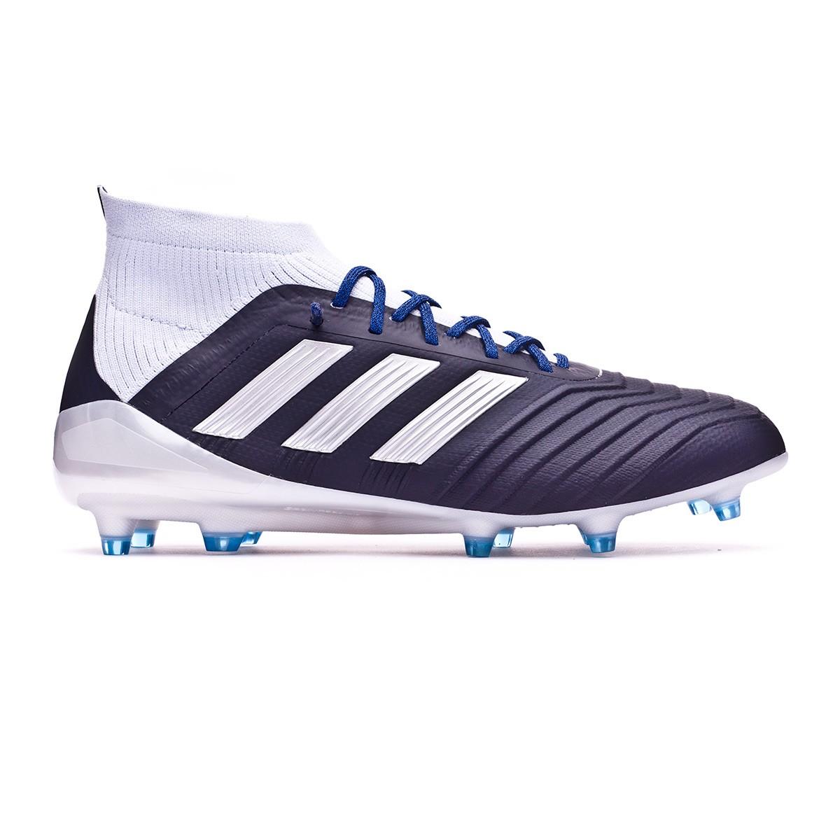 0b6b6e31a Football Boots adidas Woman Predator 18.1 FG Legend ink-Silver metallic-Aero  blue - Football store Fútbol Emotion